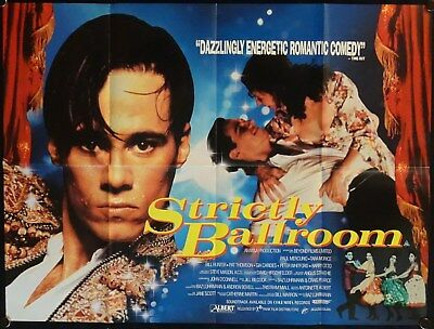Strictly Ballroom (1992) UK QUAD BAZ LUHRMANN