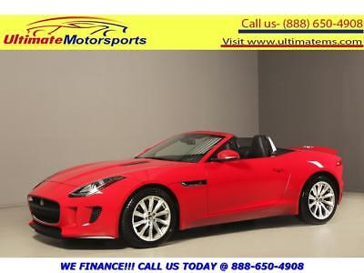 "2014 Jaguar Other 2014 SUPERCHARGED NAV LEATHER MERIDIAN 18""ALLOYS 2014 JAGUAR F-TYPE SUPERCHARGED NAV LEATHER KEYLESS MERIDIAN RED"