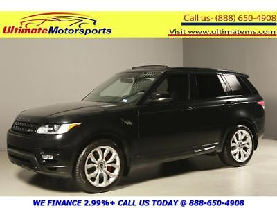 2014 Land Rover Range Rover Sport 2014 AUTOBIOGRAPHY 4x4 NAV PANO LEATHER BLIND 2014 LAND ROVER RANGE ROVER SPORT AUTBIOGRAPHY 4x4 NAV PANO LEATHER BLIND BLACK