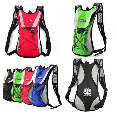 Water Bladder Bag Backpack Hydration Packs Pack Hiking Camping 2L DIP A#