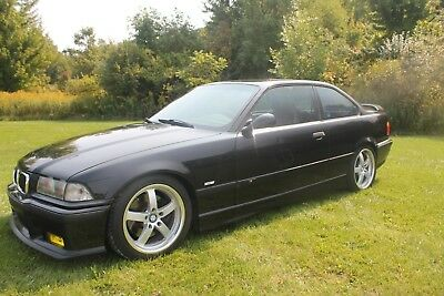 1997 BMW M3  upercharged 1997 BMW E36 M3 Coupe 2-Door Cosmos Black Metallic Track Potential