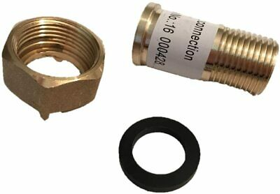 "DAE C-50NL 1pcs  1/2"" Lead Free Water Meter Coupling, 1/2"" Male NPT , 3/4"" Fem"