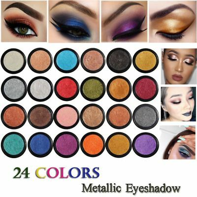 New Metallic Matte Eyeshadow Cream Eye Shadow Pigment Makeup Palette Shimmer Set