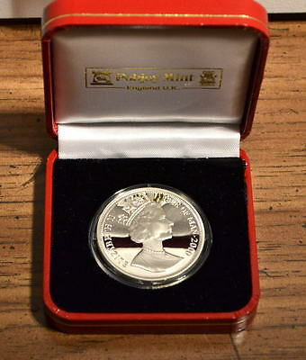 2000 Isle of Man Millennium 1 One Crown Silver Proof Coin