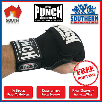 Punch Gel Quick Wraps Boxing MMA Injury Wrist Support Training FREE SHIPPING