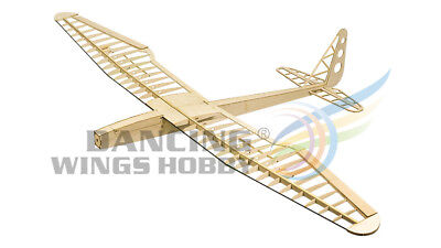 Free Shipping DW Hobby 4CH RC Balsa Glider Sunbird Wingspan 1600mm Building Kit