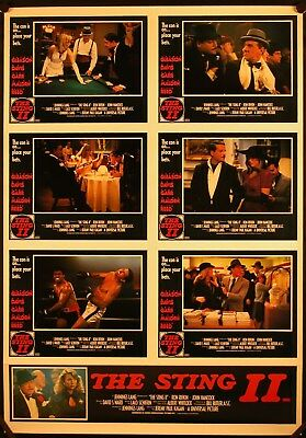 The Sting II (1983) Australian Photosheet