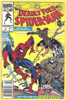 Deadly Foes of Spider-Man #1,2,3,4 (1991 Marvel) VF Lot
