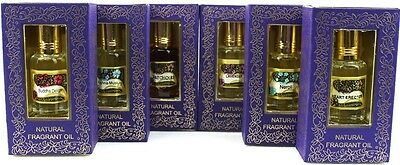 6X10 ml Bottles Song of India Natural Perfume/Burner Oil-Variety Pick 24 Choices