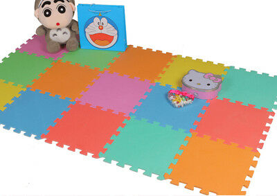 10Pcs Baby Interlocking EVA Foam Floor Puzzle Play Mat Crawling Play 30*30*0.8cm