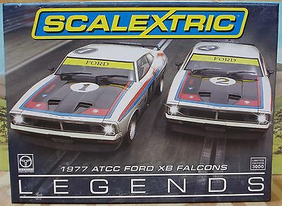 Scalextric 1/32 C3587A 1977 Atcc Ford Xb Falcons Two Car Pack, Moffat, Bond, Nib