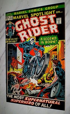 Marvel Spotlight #5 NM+ 9.6 White pages 1972 Marvel 1st Ghost Rider & origin