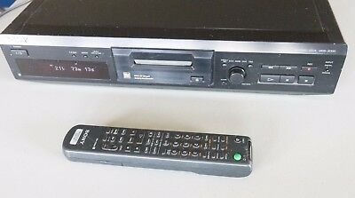 Sony MDS-JE330 Minidisc Recorder + Remote - CLEAN and TESTED