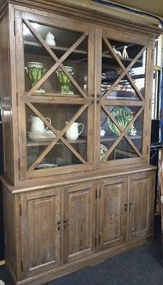 French Provincial/Hamptons Cross Cabinet