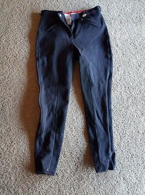 black breeches worn once