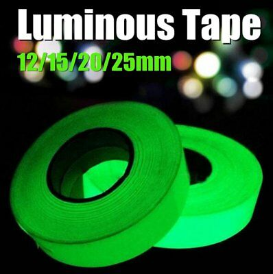 3M Luminous Tape Self-adhesive Glow In The Dark Safety Stage Home Decoration CO