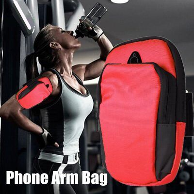 Sports Running Jogging Gym Armband Arm Band Holder Bag For Mobile Phones LOT CO