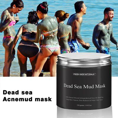 Dead Sea Mud Mask Facial Cleanser Anti-Acne Moisturizing Smoothing Cleaning IB