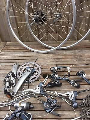 Shimano Deore Groupset and wheels