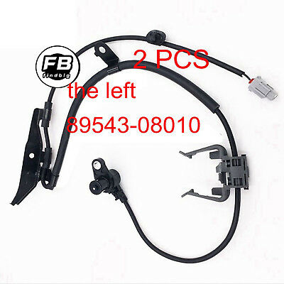 New Front Left & Front Right ABS Wheel Speed Sensor for Toyota Sienna 2001-2003