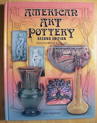 Vintage Art Deco Pottery $$$ id Price Value Guide Collector Book w/ markings