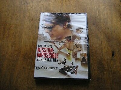 """DVD neuf,""""MISSION IMPOSSIBLE,ROGUE NATION"""",tom cruise"""