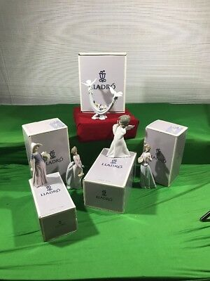 Lladro Collection Five Pieces In Boxes