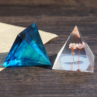 Many Size Pyramid Shape Mold DIY Silicone Jewelry Ornaments Making Mould Tools