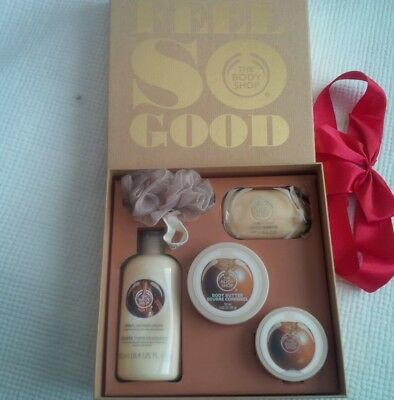 Body Shop Shea butter 5 item gift set boxed brand new - NO RESERVE