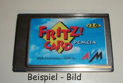 AVM Fritz Card Card 2.0 ISDN PCMCIA ohne Kabel