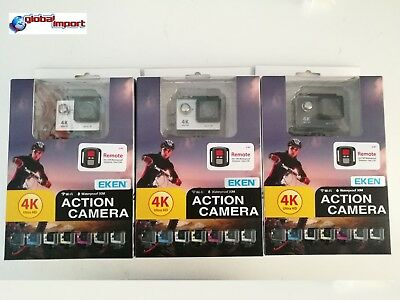 Eken H9R Sport Cam 4K Subacquea waterproof 30MT WIFI Action Cam inclusa micro sd