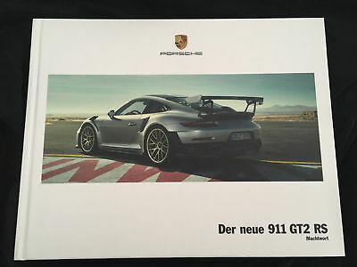 porsche 911 gt2 rs 991 machtwort prospekt eur 69 00 picclick de. Black Bedroom Furniture Sets. Home Design Ideas