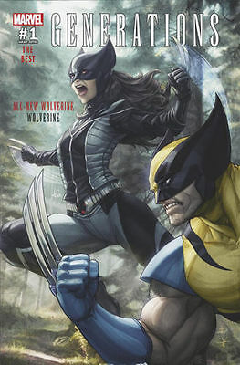 Generations All New Wolverine 1 ARTGERM Fan Expo VARIANT NM PREORDER 9/6 2017
