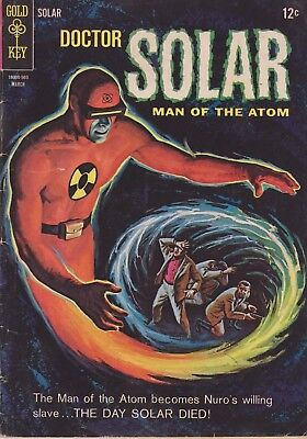 Doctor Solar Man Of The Atom #11 1965 Silver Age Gold Key Comic