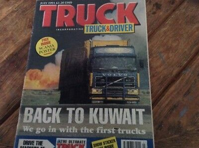 truck magazine incorporating truck and driver july 1991