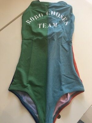 Bobo Choses Swimsuit Team Bobo UV Protection Aged 8-9 Years BNWT