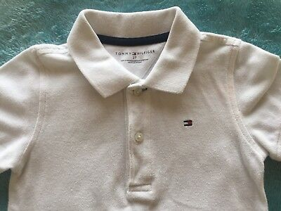 Baby Boys Tommy Hilfiger Designer Polo T-Shirt Age 18-24 Months / 2 Years