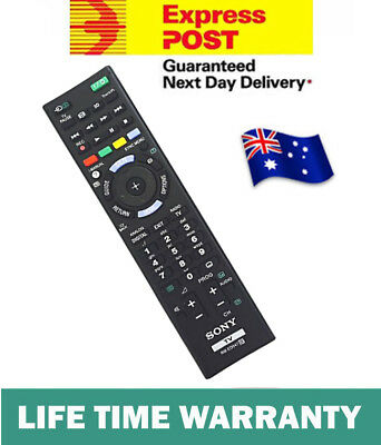 Brand New GENUINE SONY TV REMOTE CONTROL REPLACE RMGD007W RM-GD007 KDL46WE5