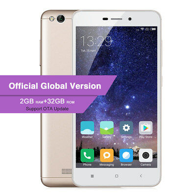 5'' XIAOMI REDMI 4A 2+32GB MIUI 8 4G LTE Smartphone 13MP 2SIM ORIGINAL GLOBAL FR