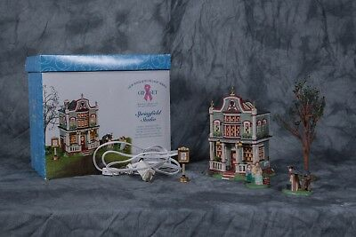 Department 56 - Springfield Studio Gift Set #56.56634 New England Village