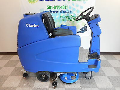 Clarke Focus 28  Rider Floor Scrubber Ride on Cleaner Machine