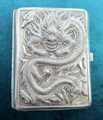 Dragon cigarette case