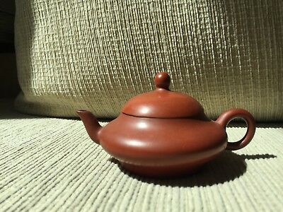 Old chinese small teapot with chinese marked
