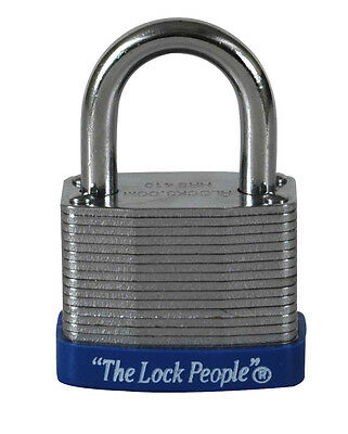 Laminated Steel Resettable Combination Padlock, HPI Model HRS410