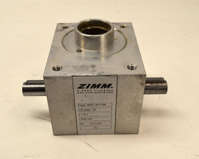 Zimm MSZ-10-A-RN Worm Gear Screw Jack Ratio-4:1 10kN-Static 1800-RPM