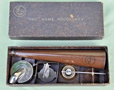 "Vintage 1931 ""FAY Tone"" Home Recorders For Your Gramophone"