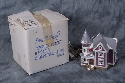 Dept 56 5049-0 Spruce Place 1985-1987 Retired