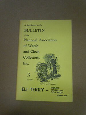 NAWCC Bulletin Supplement #3:  Eli Terry