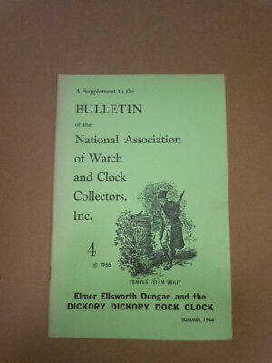 NAWCC Bulletin Supplement #4: Dickory, Dickory, Dock