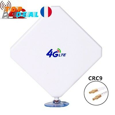 CRC9 Amplificateur Booster Signal antenne Wi 4G Booster Exterieur 35db Huawei